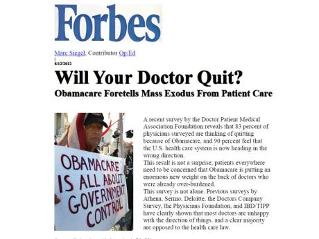Will Your Doctor Quit?