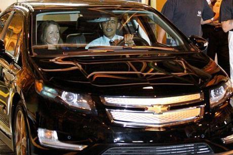 Obama-Car Volt